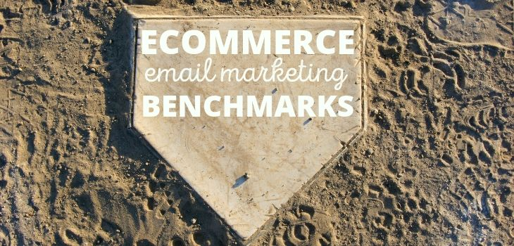 Ecommerce email marketing benchmarks